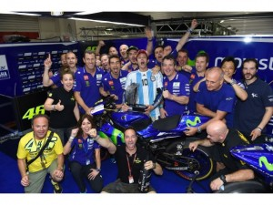 Moto GP Termas: como se gestó el triunfo de Rossi