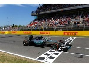 F-1 Catalunya: dominio de Rosberg