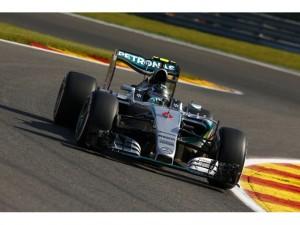 F-1 en Spa: Rosberg al frente en las prácticas libres