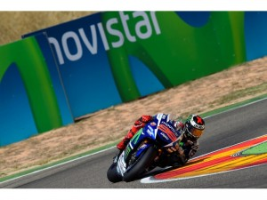 MotoGP Aragón: Lorenzo acecha
