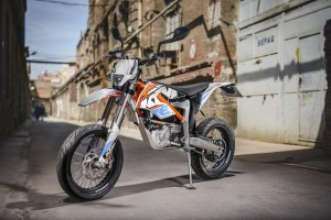 Presentación: KTM Freeride E-SM