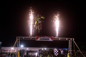 Super-X en La Plata: Agustín Poli comenzó al frente